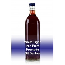 White Tiger Iron Palm Jow   Premade   Dit Da Jow