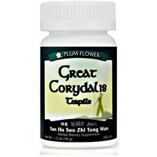 Yan Hu Suo Zhi Tong Aka Great Corydalis Teapills, Patent Pill Formula: bottle 200 pills = 8 day supply
