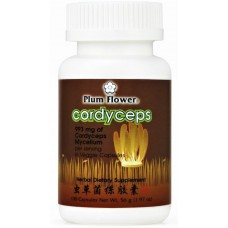 Cordyceps Capsules aka Dong Chong Xia Cao, Patent Pill Formula: bottle 100 caps = 25 day supply