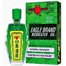 Eagle Brand Medicated Oil, patent formula: 8 fluid oz. bottle