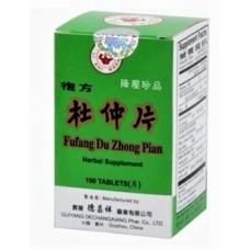 Fu Fang Du Zhong | Du Zhong Pian | Cortex Eucommiae Tablets | Bottle