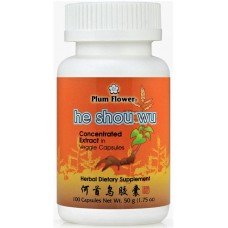 He Shou Wu Concentrated Extract Capsules, Patent Pill Formula: bottle 100 pills = 8 day supply