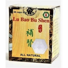 Lu Bao Bu Shen, Patent Pill Formula: bottle 36 pills = 8 day supply