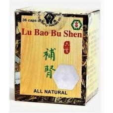 Lu Bao Bu Shen, Patent Pill Formula: bottle 36 pills = 8 day supply