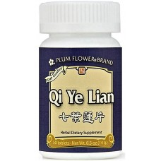 Qi Ye Lian, Patent Pill Formula: bottle 50 pills = 4 day supply
