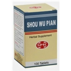 Shou Wu, Patent Pill Formula: bottle 100 pills = 8 day supply
