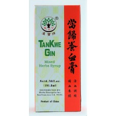 TanKwe Gin, Patent Tonic Formula: 4 bottles = 60 day supply