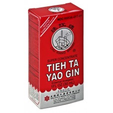 Tieh Ta Yao Gin, Herbal Liniment, patent formula: 4 - 100cc bottles