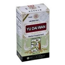 Yu Dai, Patent Pill Formula: bottle 100 pills = 4 day supply