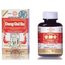 Dang Gui Su, Patent Pill Formula: bottle 200 pills = 5 day supply