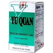 Yu Quan, Patent Pill Formula: bottle 200 pills = 8 day supply