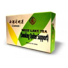 West Lake Tea, Smoking Quitter Support, Patent Formula: box 8 tea bags = 4 day supply